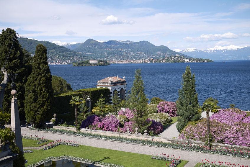 Isola Bella Gardens, Borromean islands, Lake Maggiore