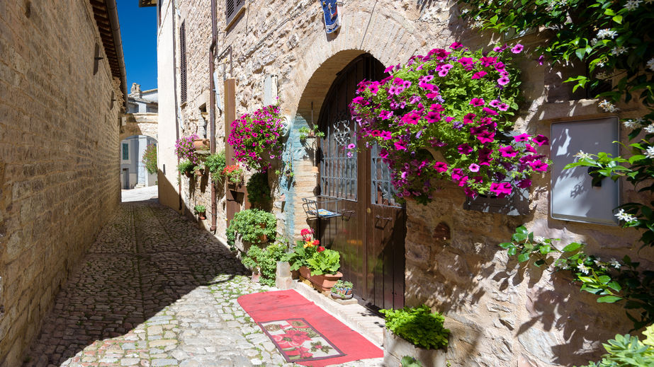 Streets of Spello