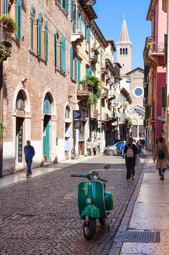 Corso Santa Anastasia, Verona, Italy