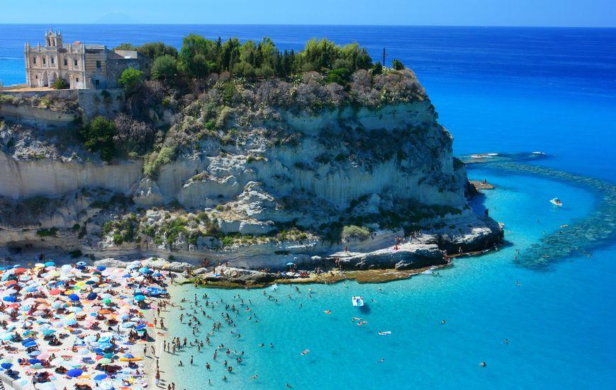 Tropea Beach, Tropea, Italy