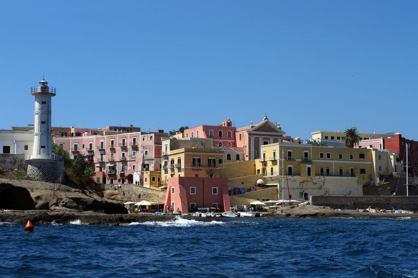 The Pontine Islands, Lazio