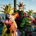 masks of venice carnival