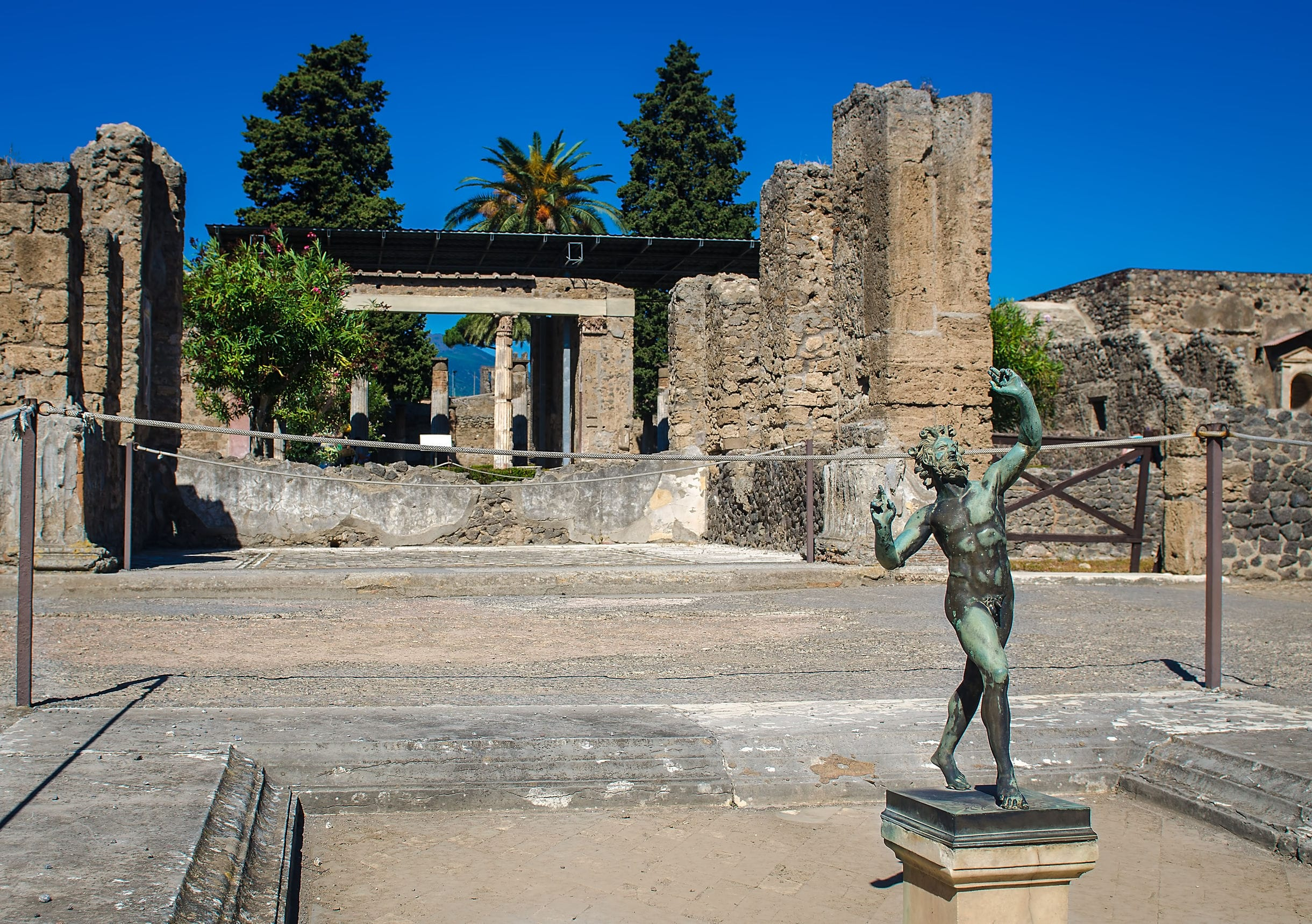 House of the Faun in Pompeii