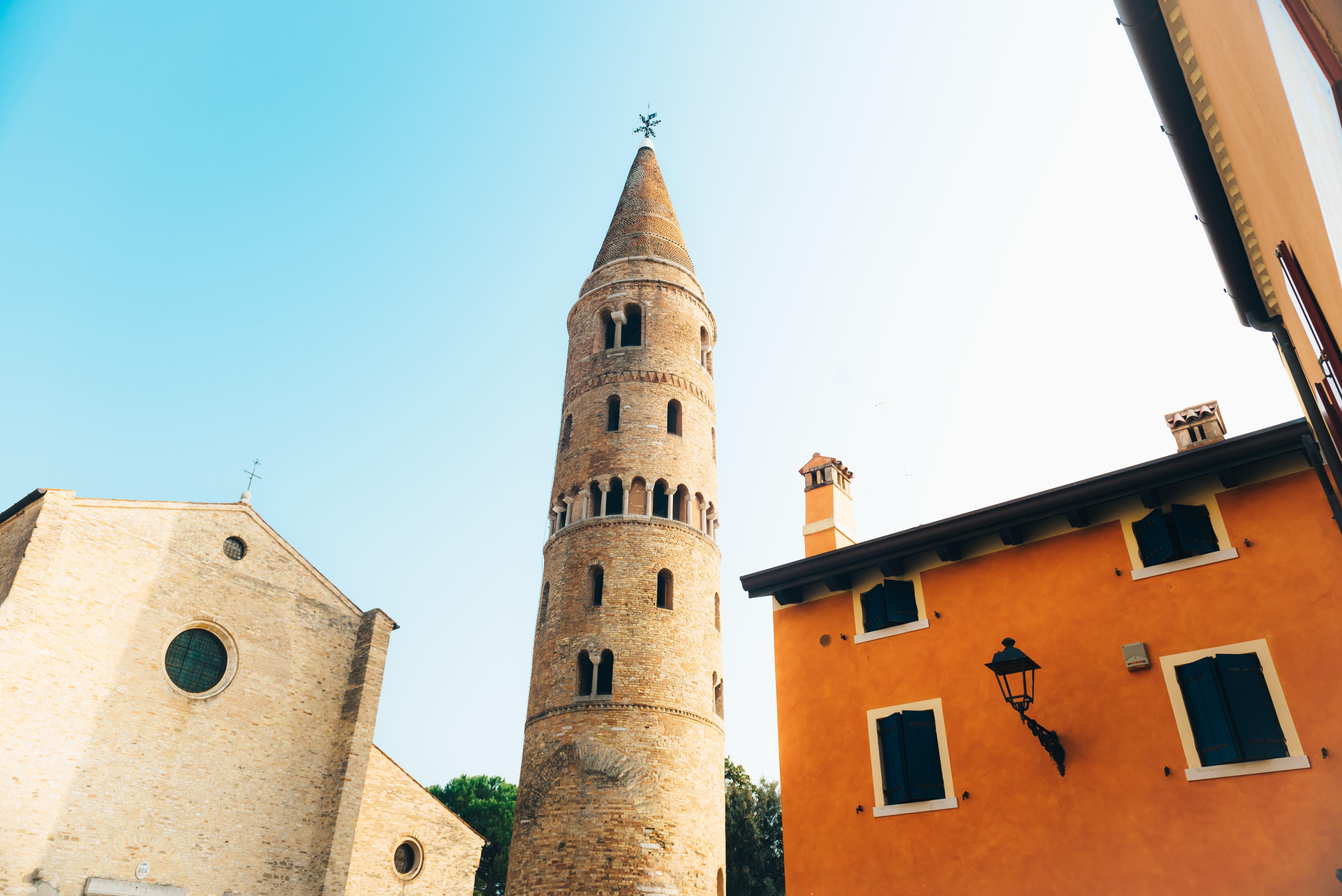 The Campanile of the Duomo di Santo Stefano, Caorle