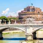 Castel Sant'Angelo, Rome Italy Castel