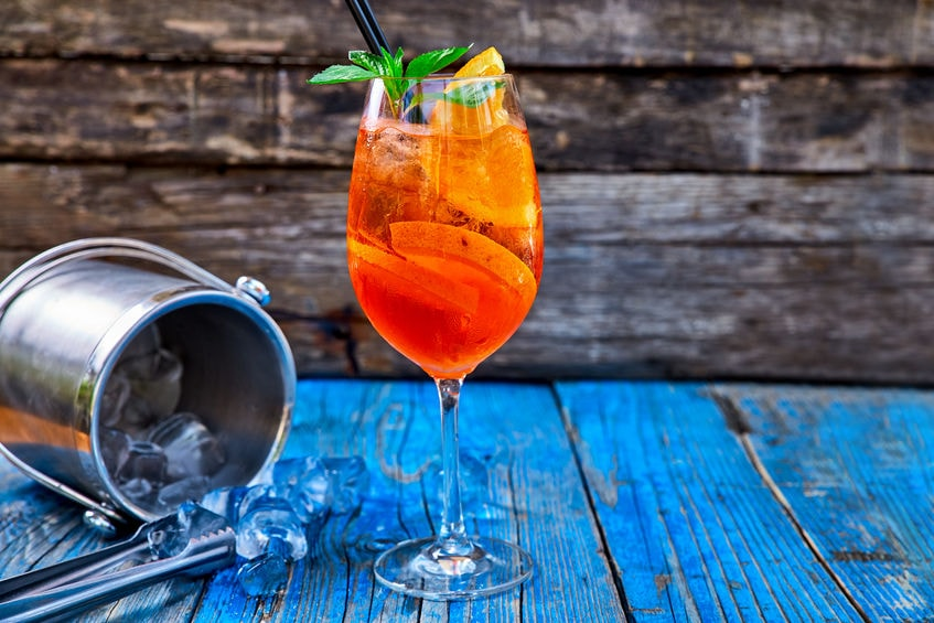 Aperol Spritz - Cocktails of Italy