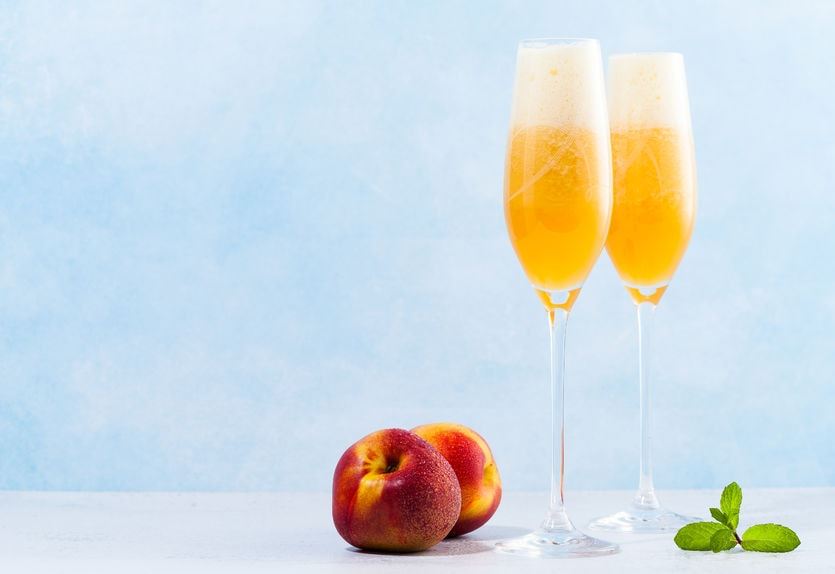 Bellini - Peach Italian Drink