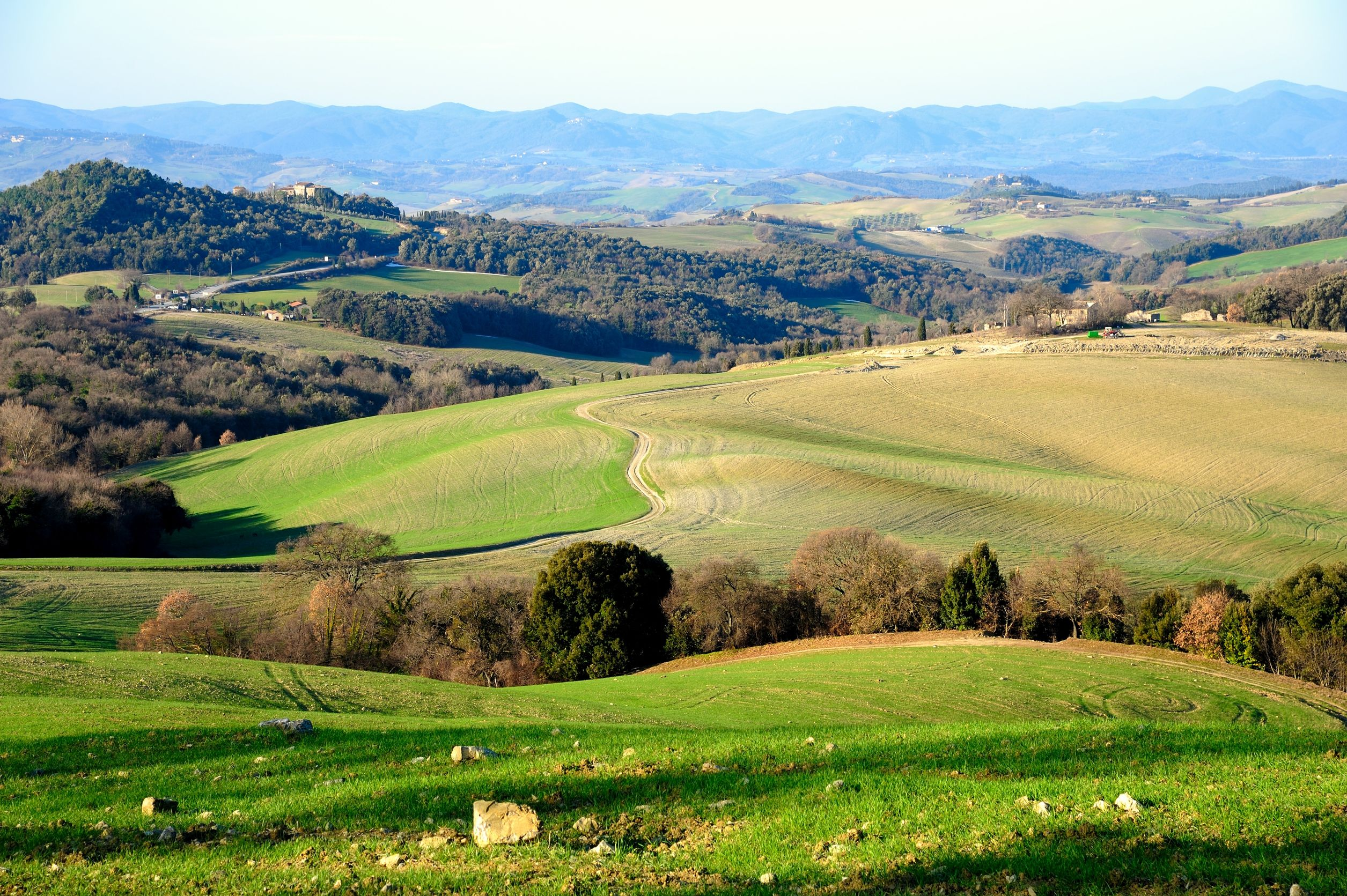 adventure in the Tuscan hills