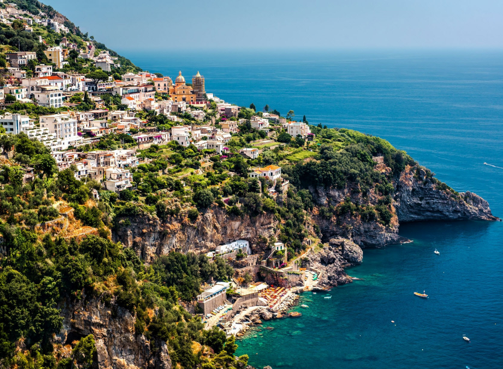 Take Delight In The Undisputed Beauty Of Amalfi