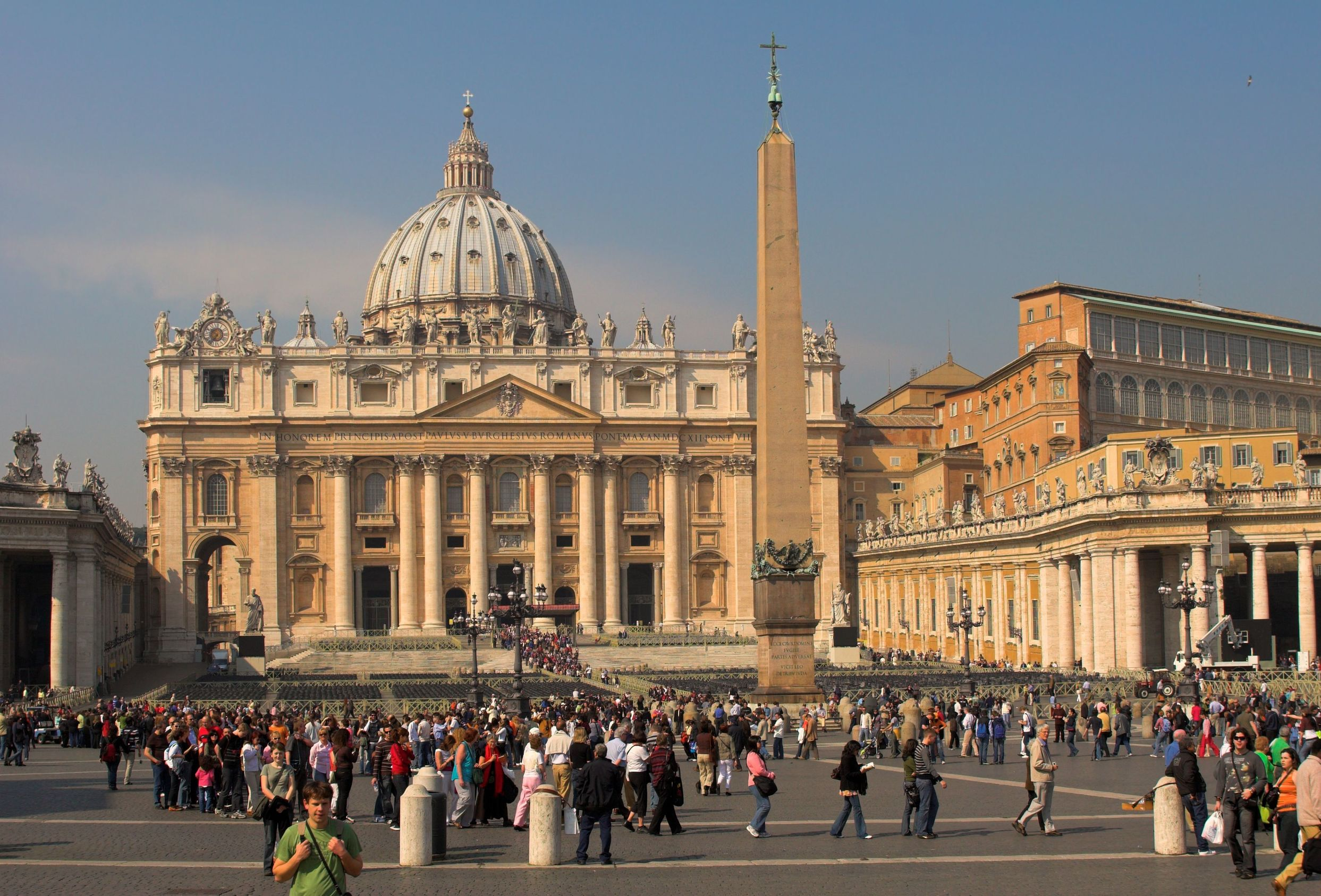 Easter St. Peters Basilica