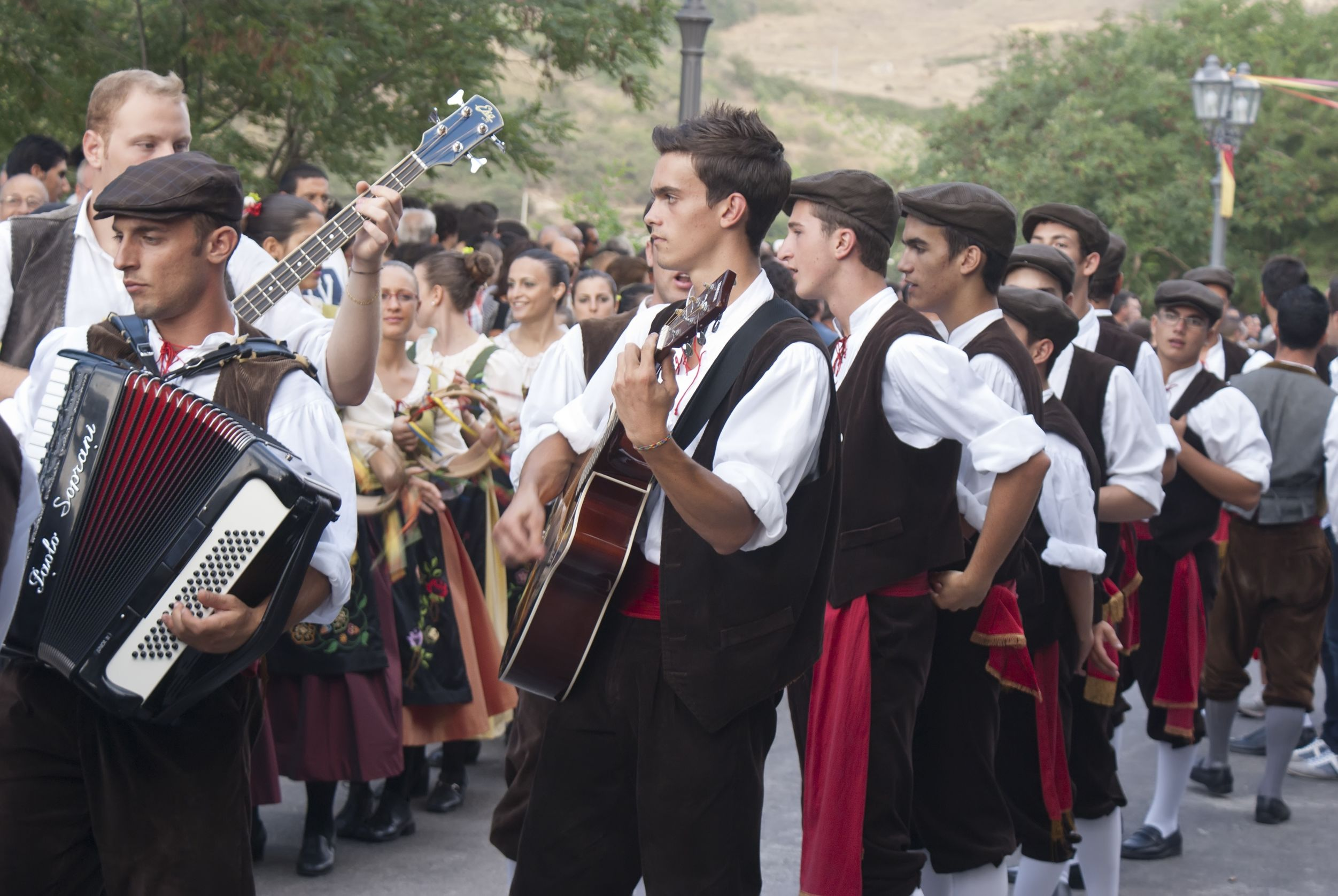 Sicily Ypsigrock summer music Festival in Italy
