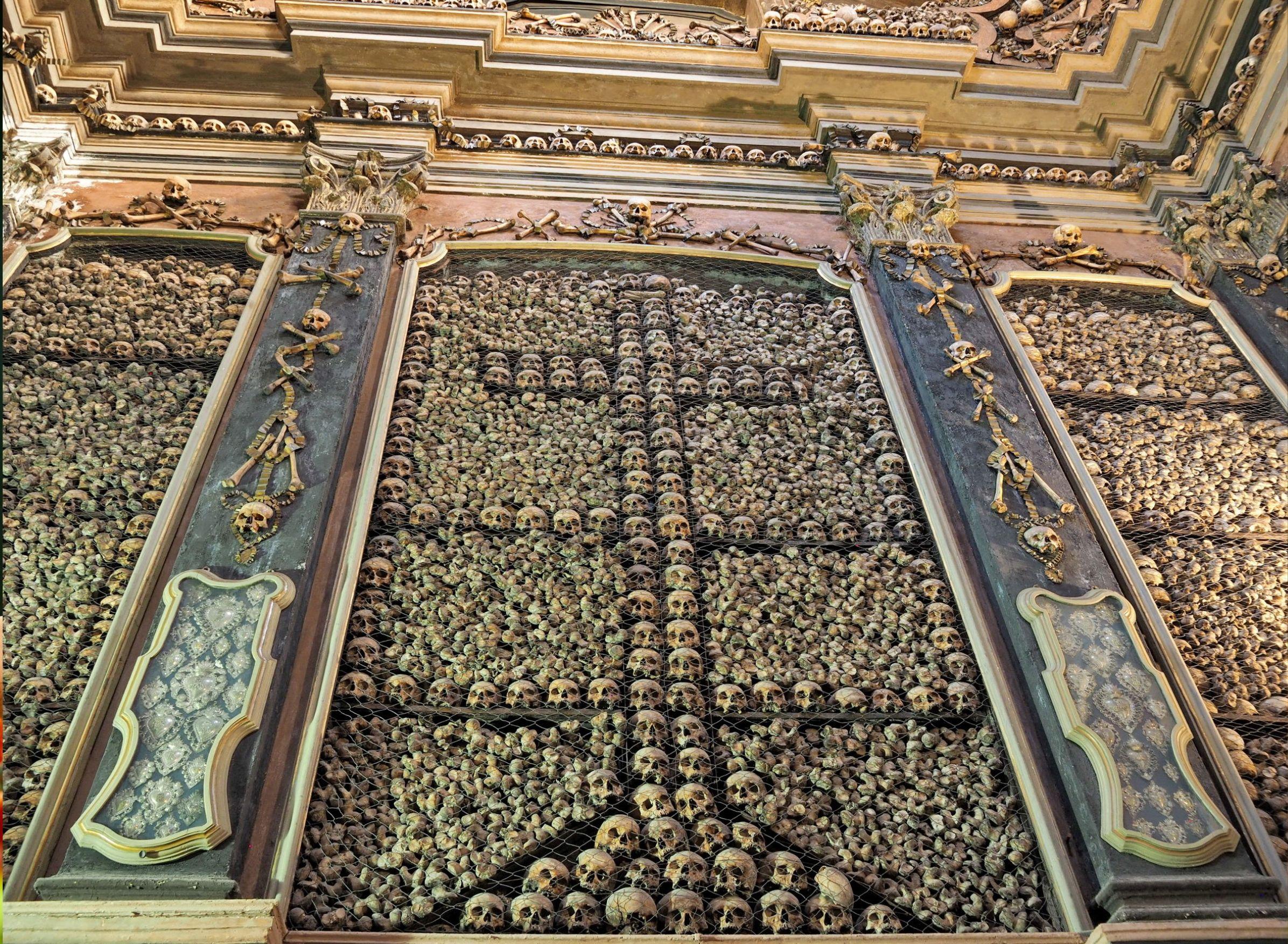 The church of San Bernardino in Milan