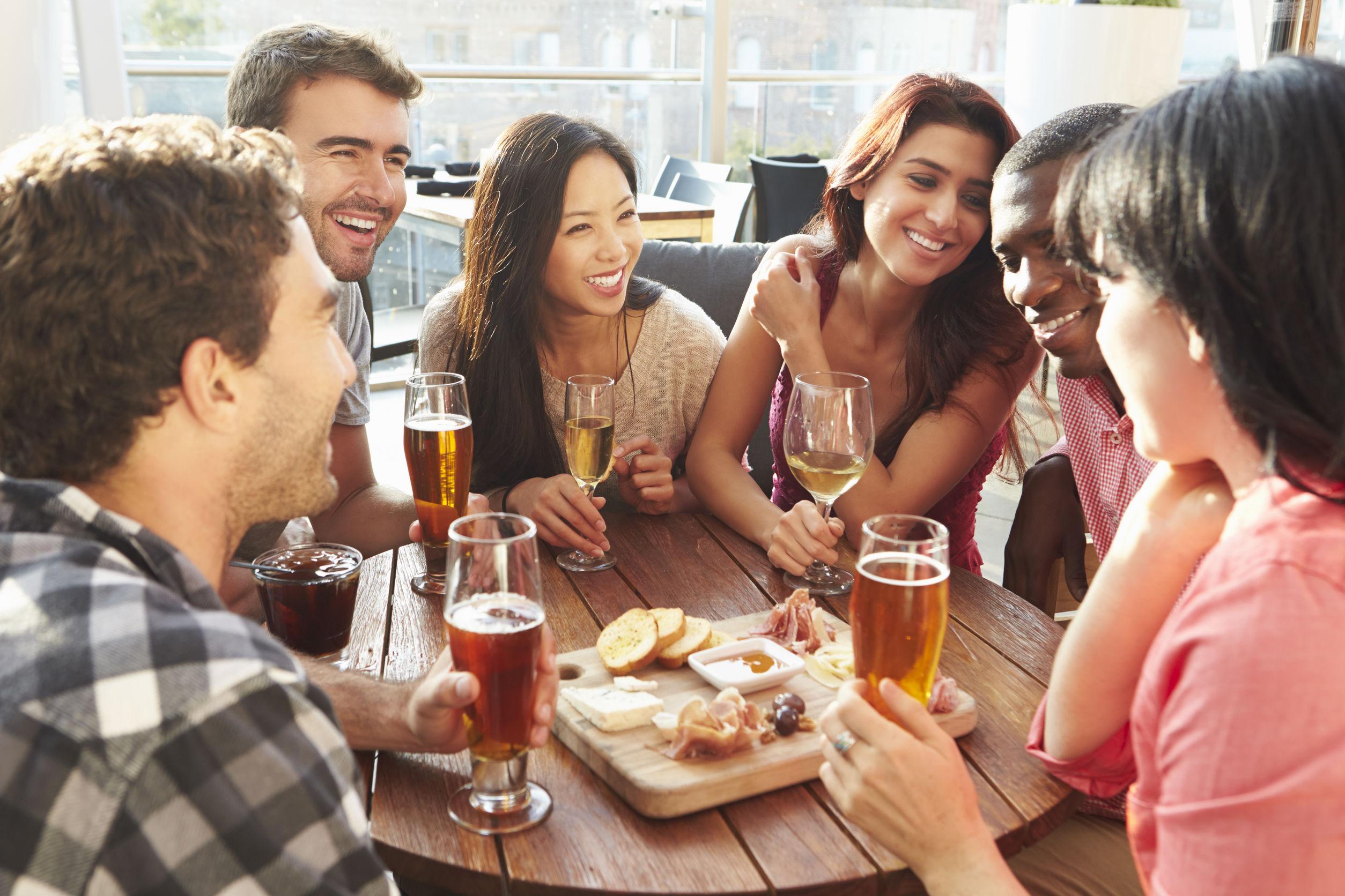 Italian habits - No drinking on empty stomachs