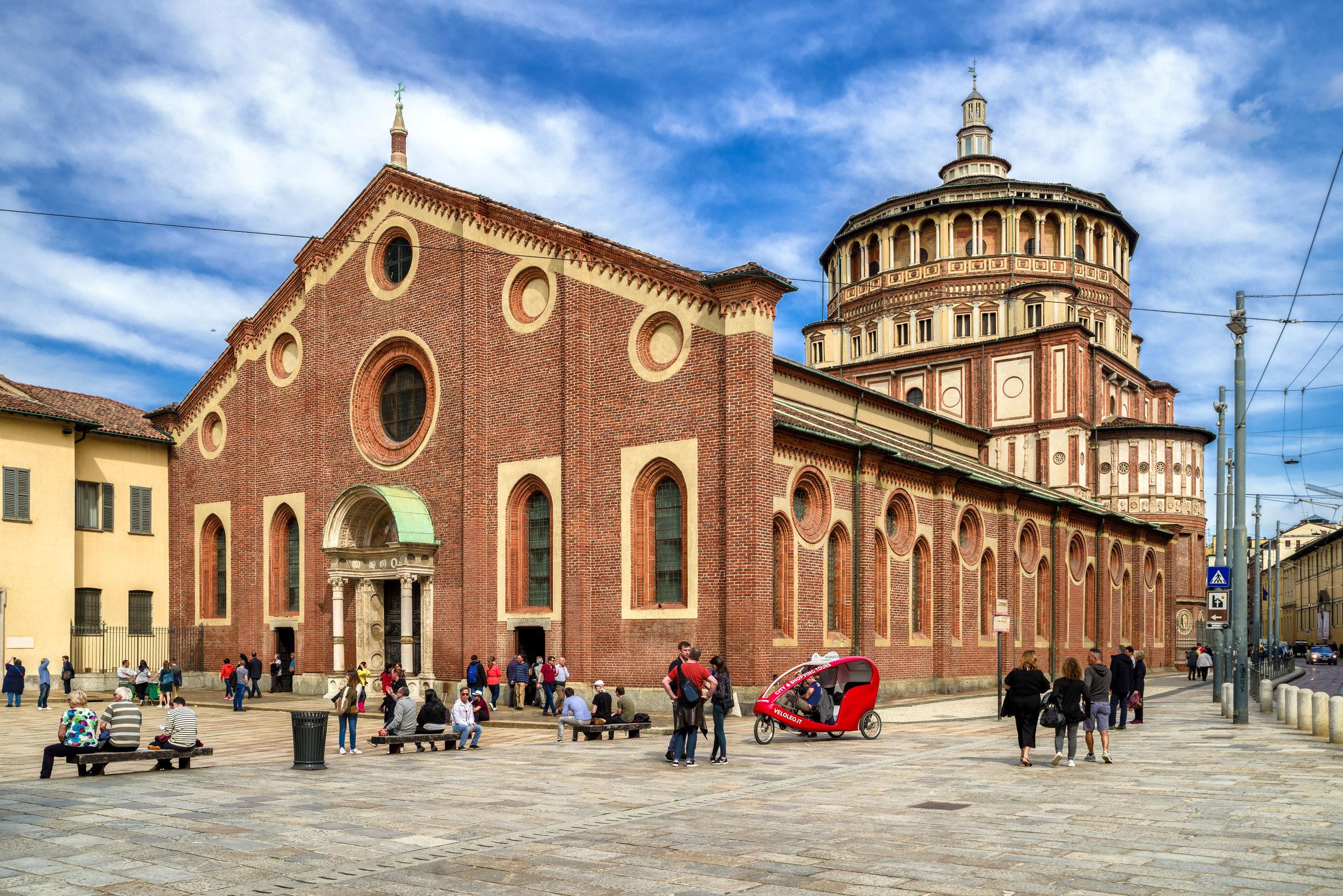 Santa Maria Delle Grazie in Italy