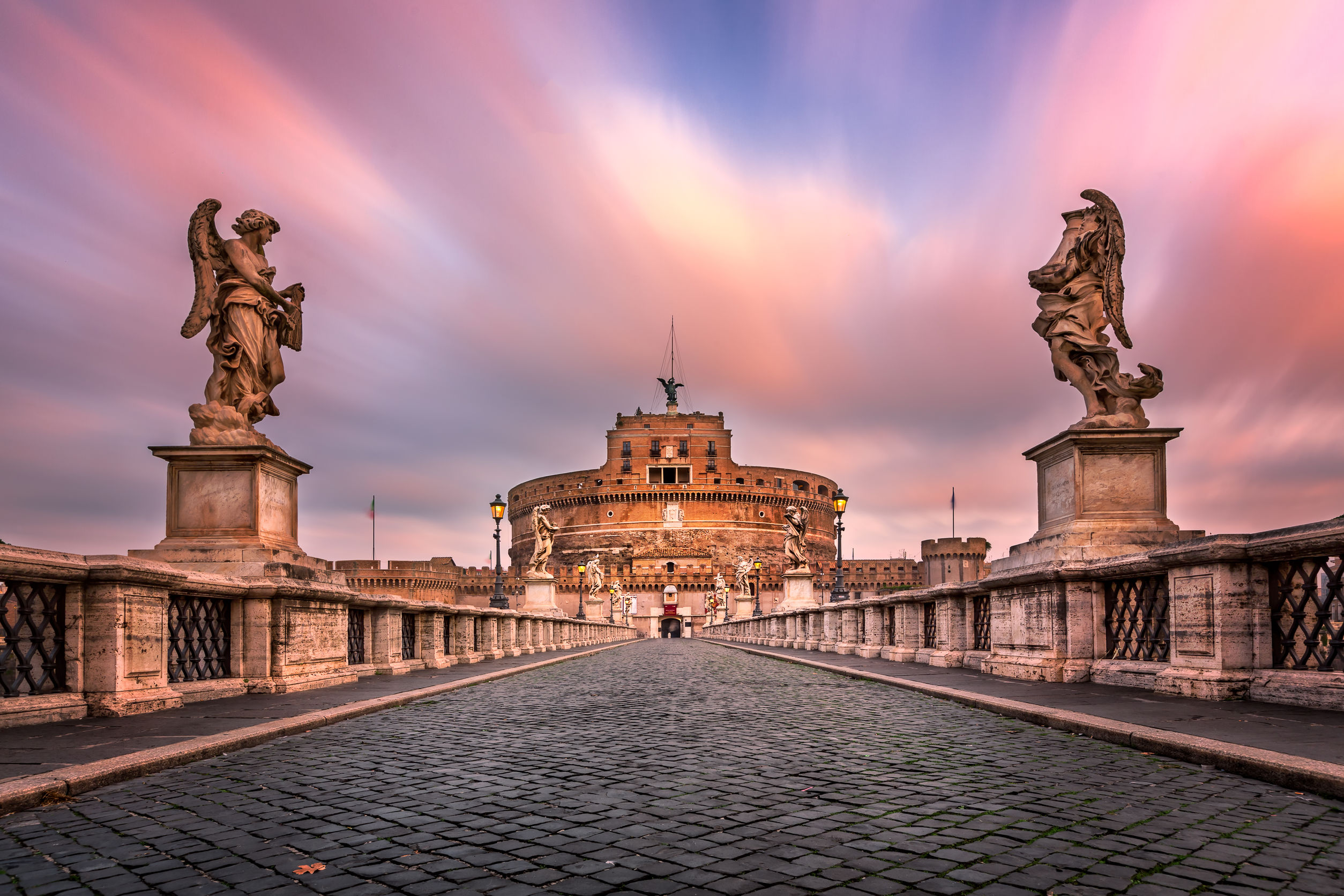 Castel Sant'Angelo, Rome in Italy