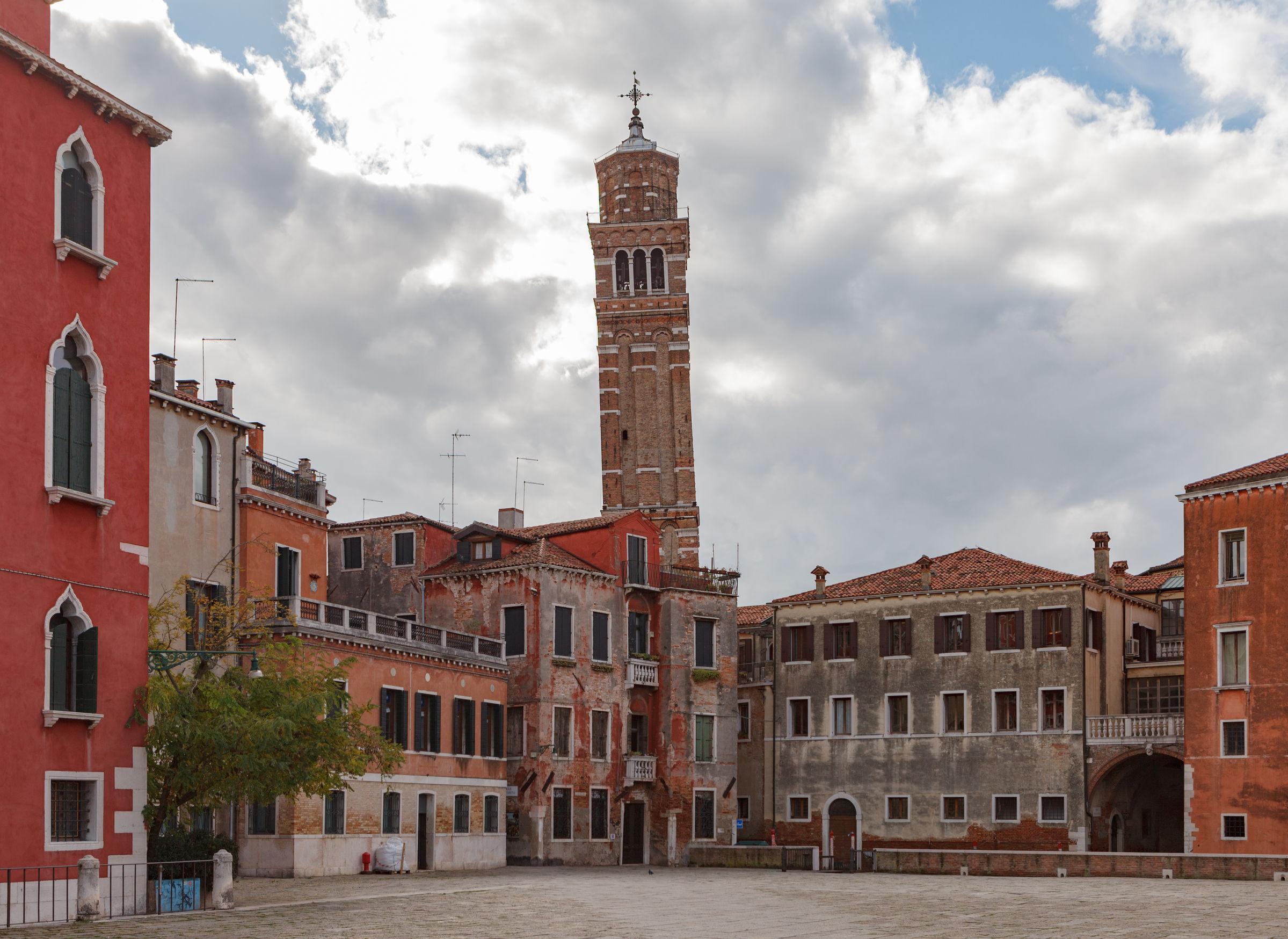 The Campanile of Santo Stefano, Venice