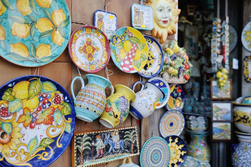 Amalfi's Ceramics Italy