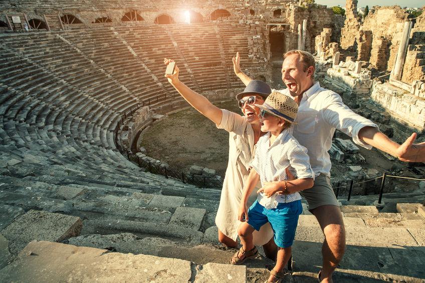 amphitheatre colosseum in rome, italy