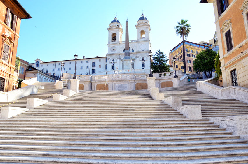 The Spanish Steps in Rome