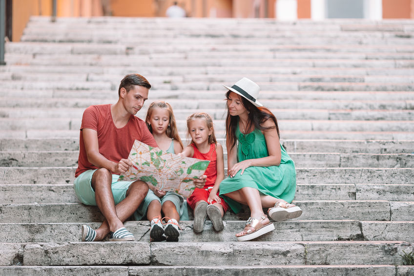 Italy travel with kids