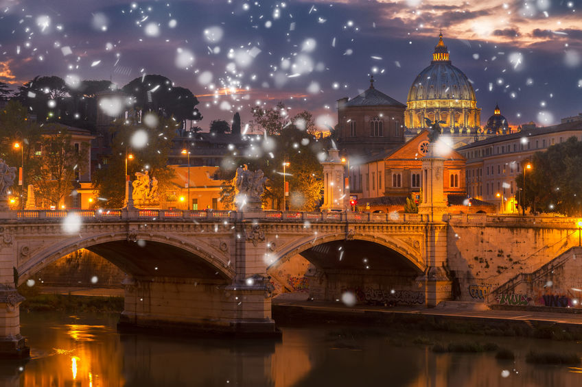 winters in Rome