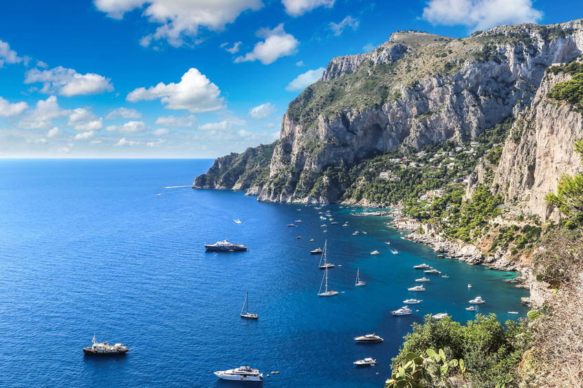 4 Breathtaking Natural Beauties in Capri