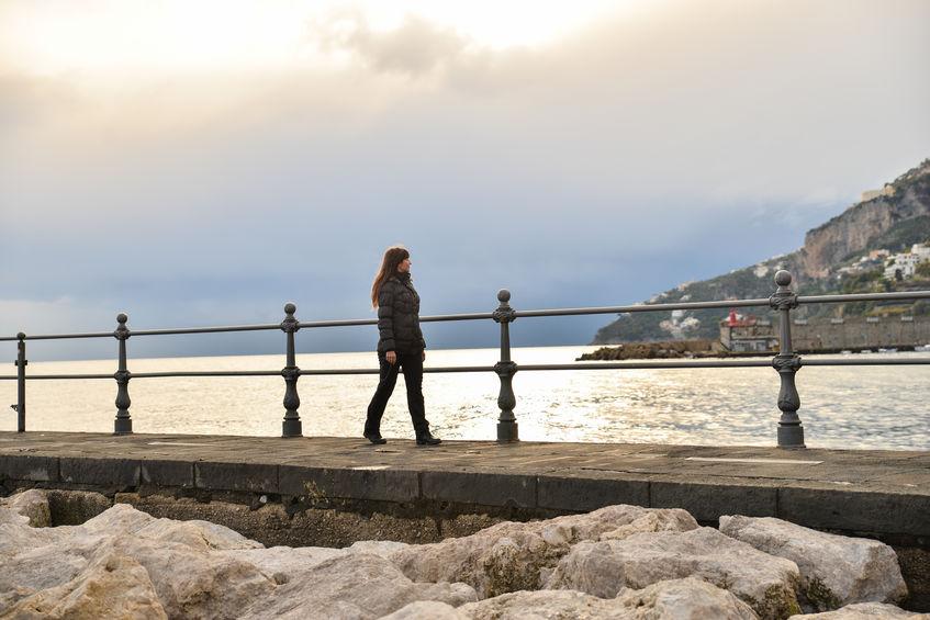 winters in Amalfi