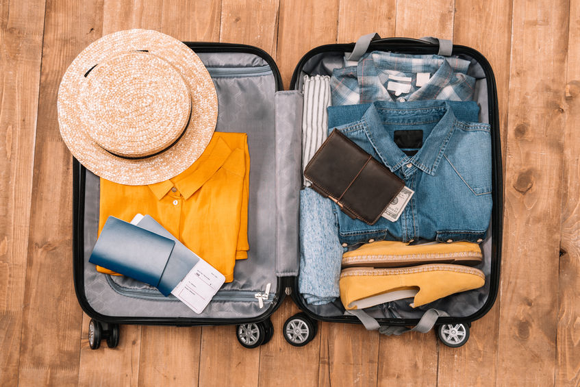 Pack lighter to travel Italy
