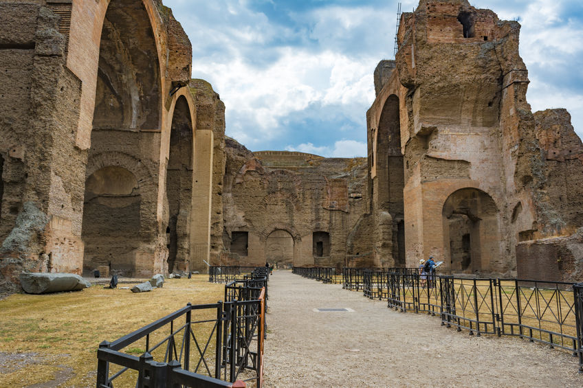 The Baths of Caracalla or Le Terme Di Caracalla