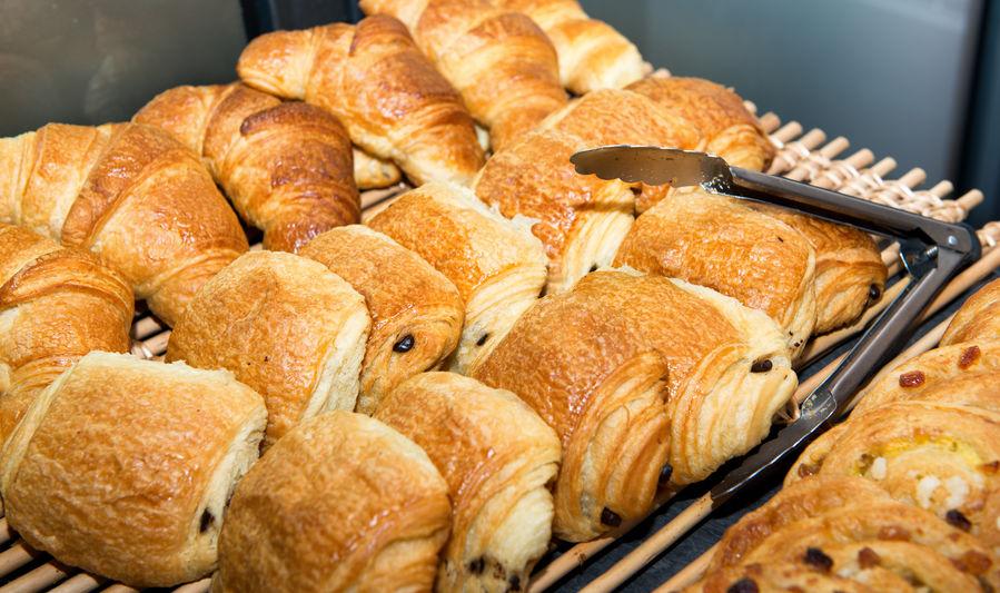 Viennoiserie Italian breakfast