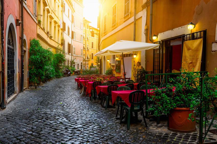 Trastevere IN ROME