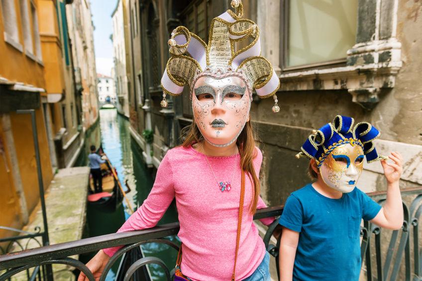 Kids Carnevale in Venice Carnival
