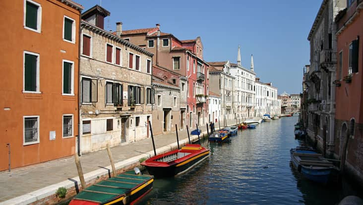 A canal in Cannaregio