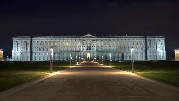 Caserta by night
