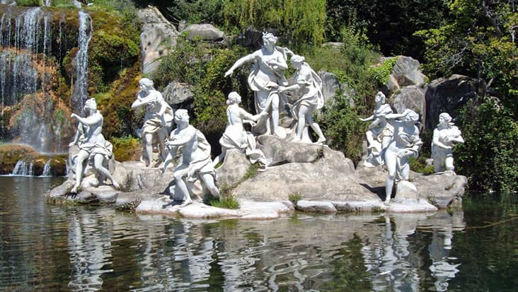 Atteone's Fountain in Caserta
