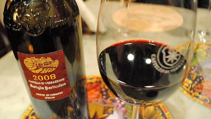 The wine of the Chanti Area
