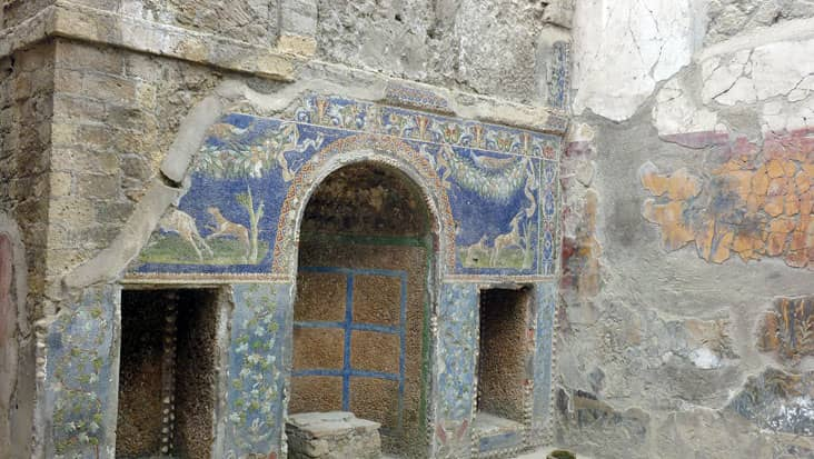 Ruins at Herculaneum