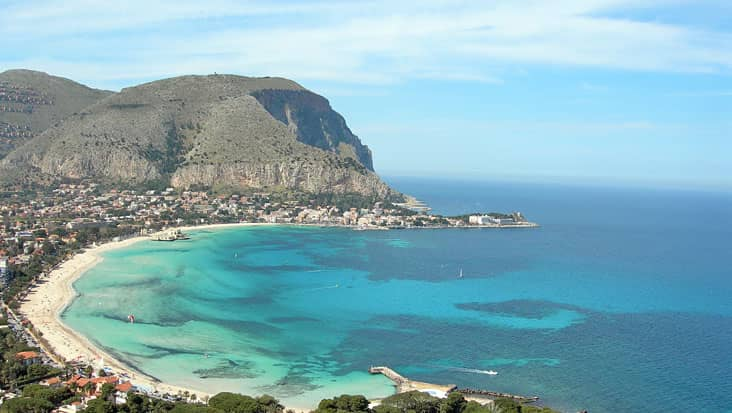 Panorama of Mondello
