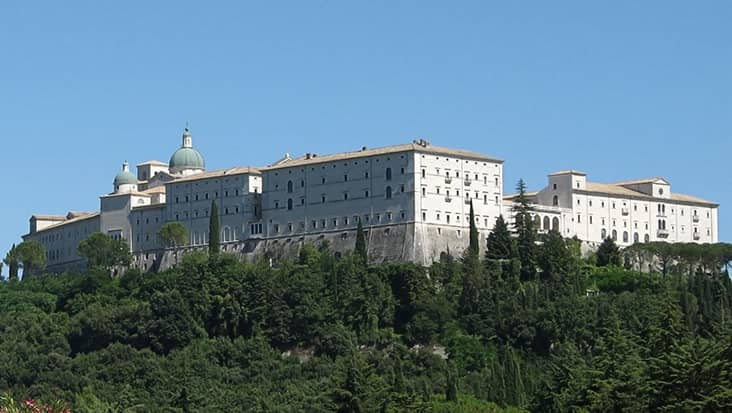View of Montecassino
