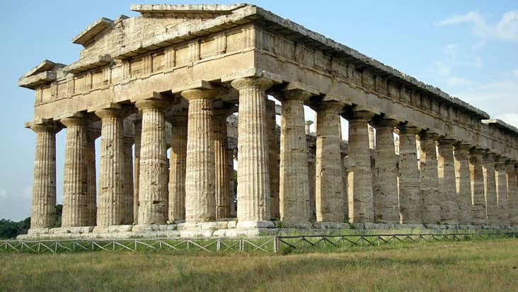 Temple of Hera II in Paestum