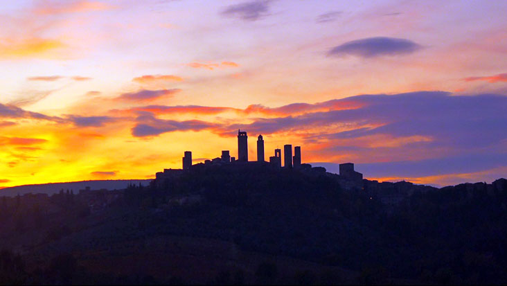 San Gimignano Sunset