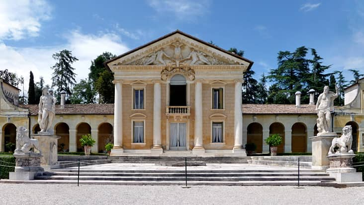 Villa Barbaro by the architect A. Palladio